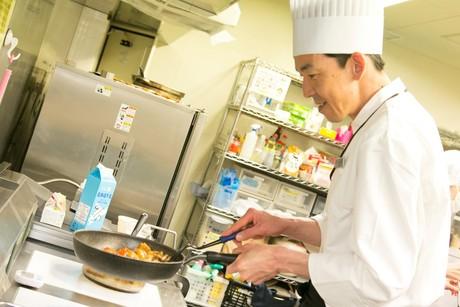 【調理師免許は不要】美栄橋駅から徒歩8分県庁から車で6分朝食レストランでの調理のお仕事です